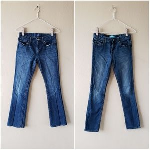 2 Old Navy Girls (Kids) Boot Cut & Skinny Jeans